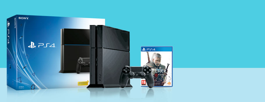 PlayStation 4 with The Witcher 3 Trade-In Offer - Buy Now at GAME.co.uk!