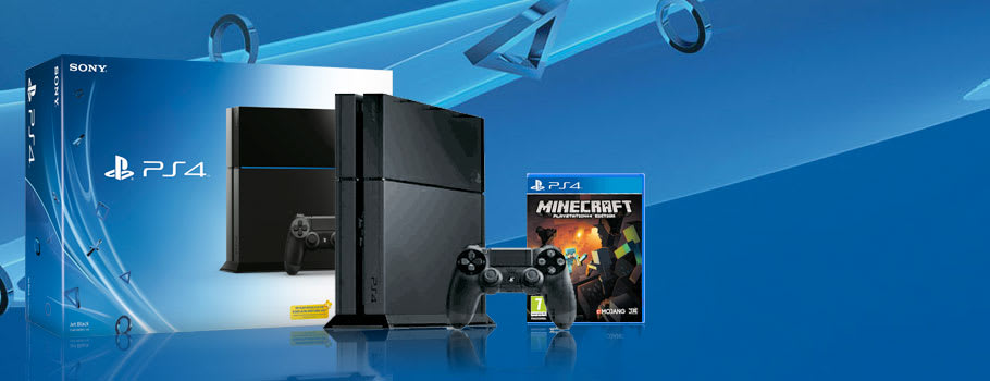 PlayStation 4 with Minecraft Trade-In Offer - Buy Now at GAME.co.uk!