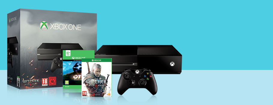 Xbox One with The Witcher 3 Trade-In Offer - Buy Now at GAME.co.uk!
