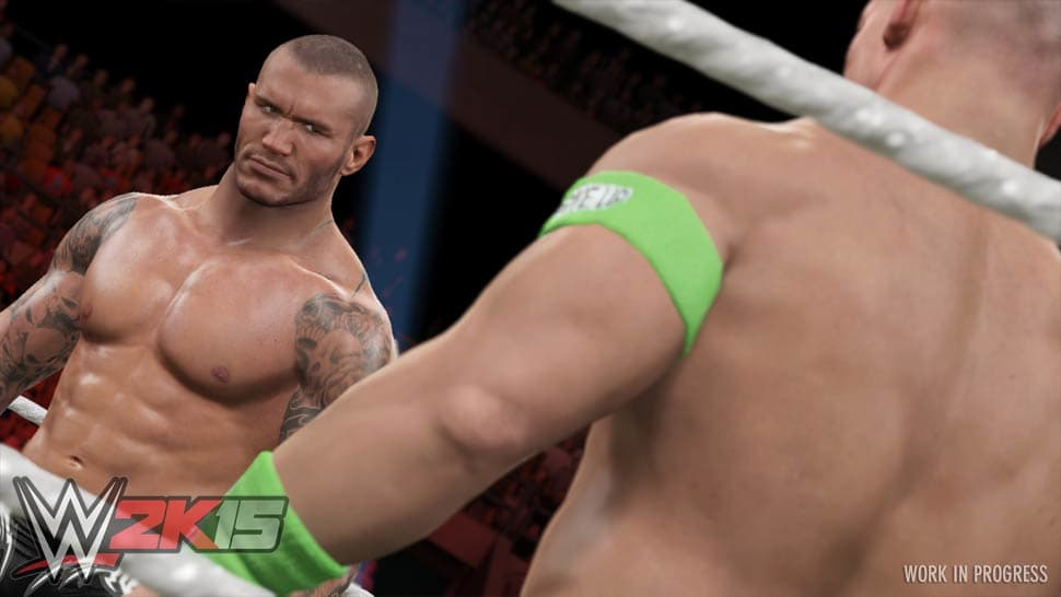 WWE 2K15 Screenshot 02