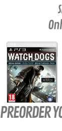 Watch Dogs GAME Exclusive Special Edition (PS3)