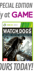 Watch Dogs GAME Exclusive Special Edition (Xbox 360)