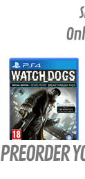 Watch Dogs GAME Exclusive Special Edition (PS4)