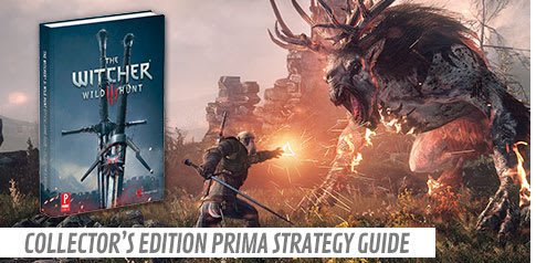 The Witcher 3: Wild Hunt Collectors Edition: Prima Strategy Guide