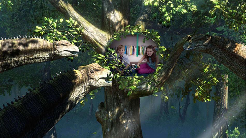 Wonderbook Walking With Dinosaurs Screenshot 03
