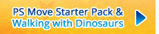 PlayStation Move Starter Pack with Wonderbook: Walking with Dinosaurs