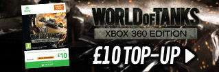 World of Tanks - £10 Top Up