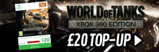 World of Tanks - £20 Top Up