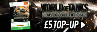 World of Tanks - £5 Top Up