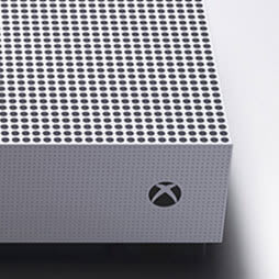 Xbox One S close up console shot