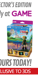 The Legend of Zelda: A Link Between Worlds GAME Exclusive Collectors Edition (3DS)
