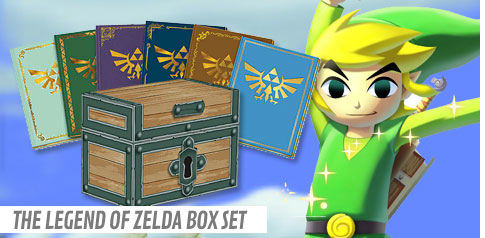 The Legend of Zelda Box Set Strategy Guides