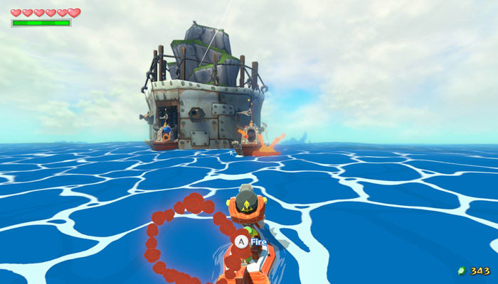 Zelda Wind Waker HD Screenshot 01