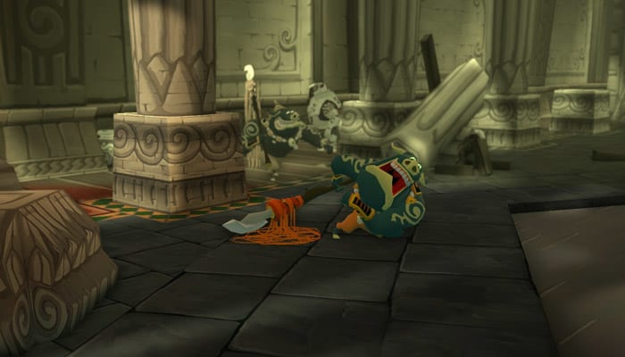 Zelda Wind Waker HD Screenshot 09
