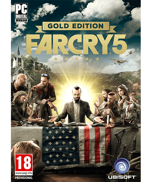 Far Cry 5 GOLD Edition PC