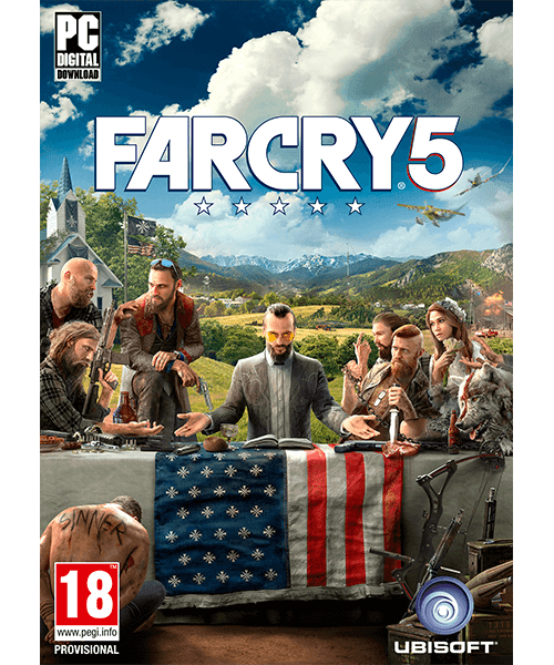 Far Cry 5 Standard Edition PC