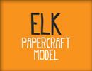 Papercraft Elk
