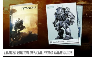Titanfall Limited Edition Official Prima Game Guide