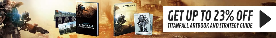 Up to 23% Off Titanfall Artbook and Strategy Guide