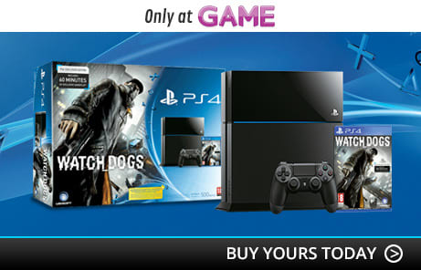 PlayStation 4 Console with Watch Dogs Special Edition