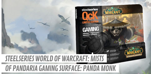 SteelSeries World of Warcraft: Mists of Pandaria Gaming Surface: Panda Monk