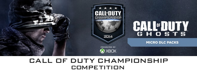 Call of Duty Championship competition with Activision on GAME.co.uk