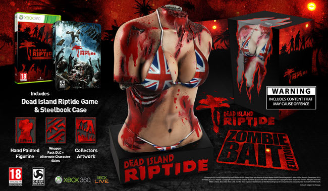 Dead Island Zombie Bait Edition on Xbox 360