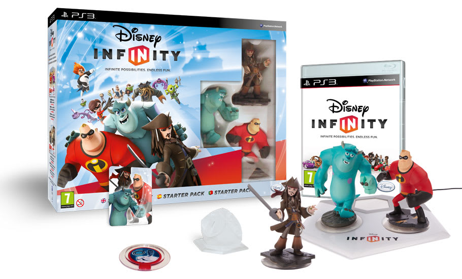 Disney Infinity, Infinite Possibilites. Endless Fun.