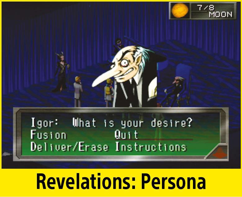 Revelations: Persona