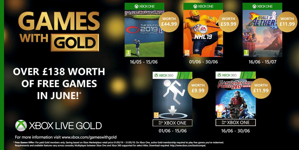 ~Xbox Live Gold