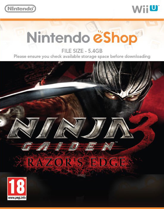 Buy Ninja Gaiden 3 Razor S Edge On Wii U Game
