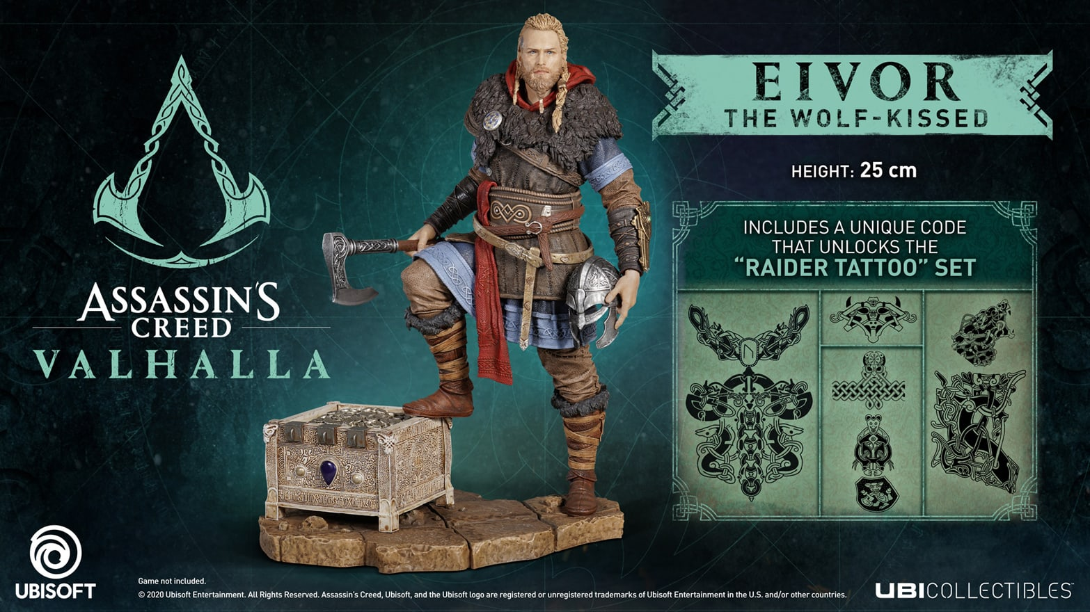Buy Assassin S Creed Valhalla Eivor The Wolf Kissed Game