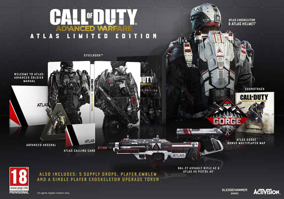 Call of Duty Advanced Warfare Atlas Edition for PlayStation 4 and Xbox One - At GAME.co.uk