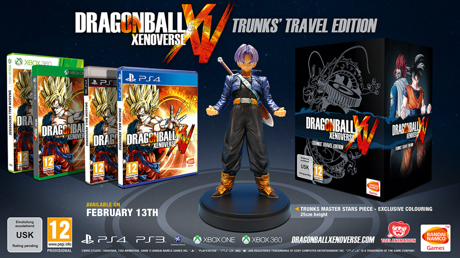 DragonBall Xenoverse Trunks Travel