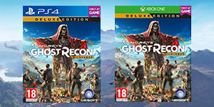 Ghost Recon Wildlands Deluxe Edition - Only at GAME - Pre-order Now