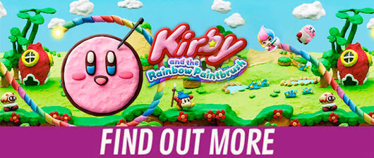 Find out more about Kirby and the Rainbow Paintbrush