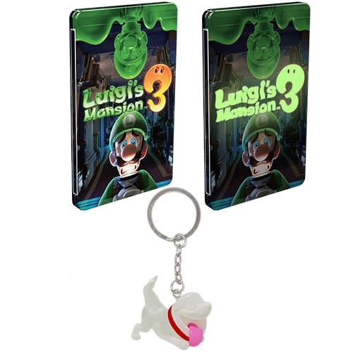 Luigi's Mansion 3 with GAME UK Retail Exclusive Glow in the Dark Steelbook