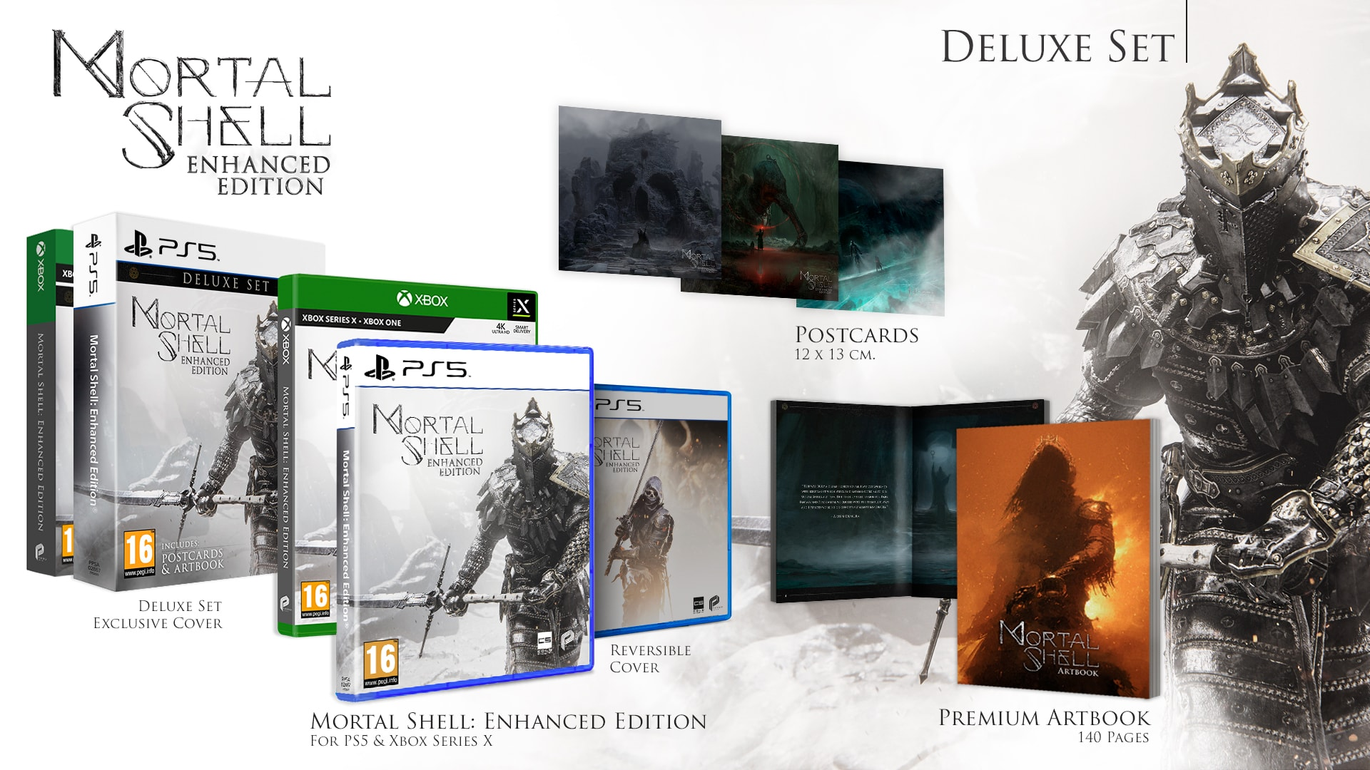 Buy Mortal Shell: Enhanced Edition - Deluxe Set on Xbox Series X | GAME