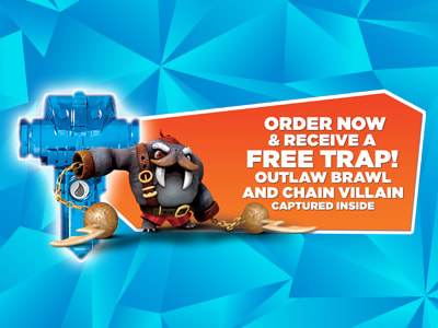 Order Bonus: Outlaw Brawl and Chain Trap!