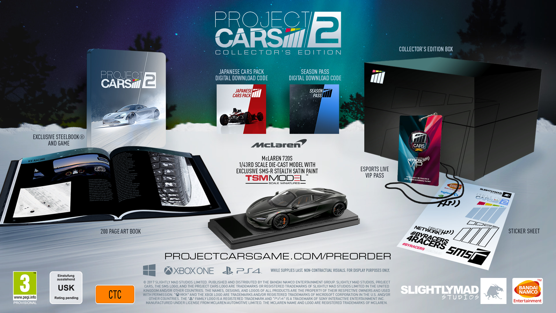 Buy Project CARS 2 Collector\'s Edition on Xbox One | Free UK ...