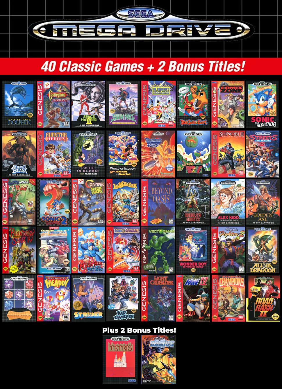 Best sega mega drive 2 games games factory 2 website