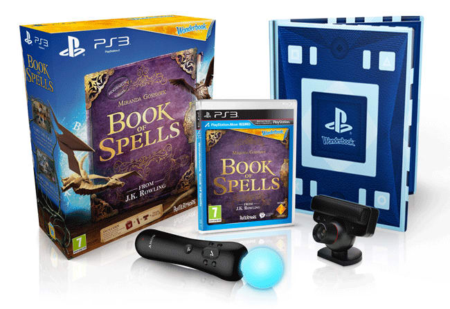 Wonderbook: Book of Spells only on PlayStation 3 available at GAME