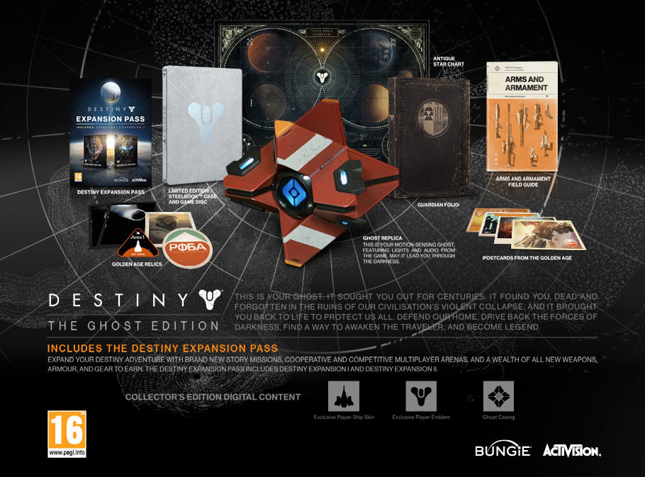 Destiny Ghost edition sells for $1000+