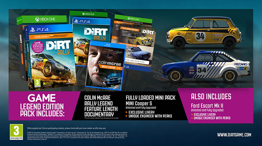 DiRT Rally Legend Edition On PS4 Only At GAME