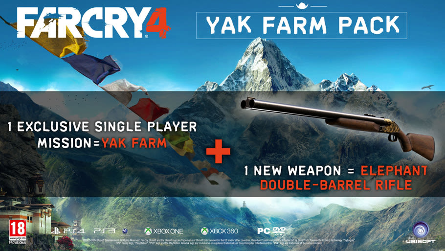 Buy Far Cry 4 Limited Edition With Yak Farm Pack Mission On Playstation 4 Game