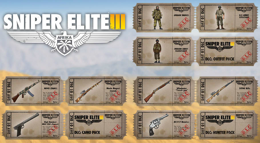 Sniper Elite 3 - Limited Edition for Xbox One and PlayStation 4 - at GAME.