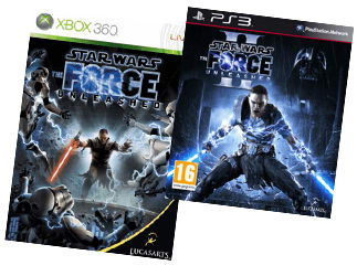 Vader's Sith apprentice Starkiller stars in The Force Unleashed and the Force Unleashed II
