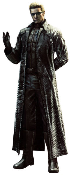 Wesker is our resident baddie. Grab Resident Evil 6 at GAME