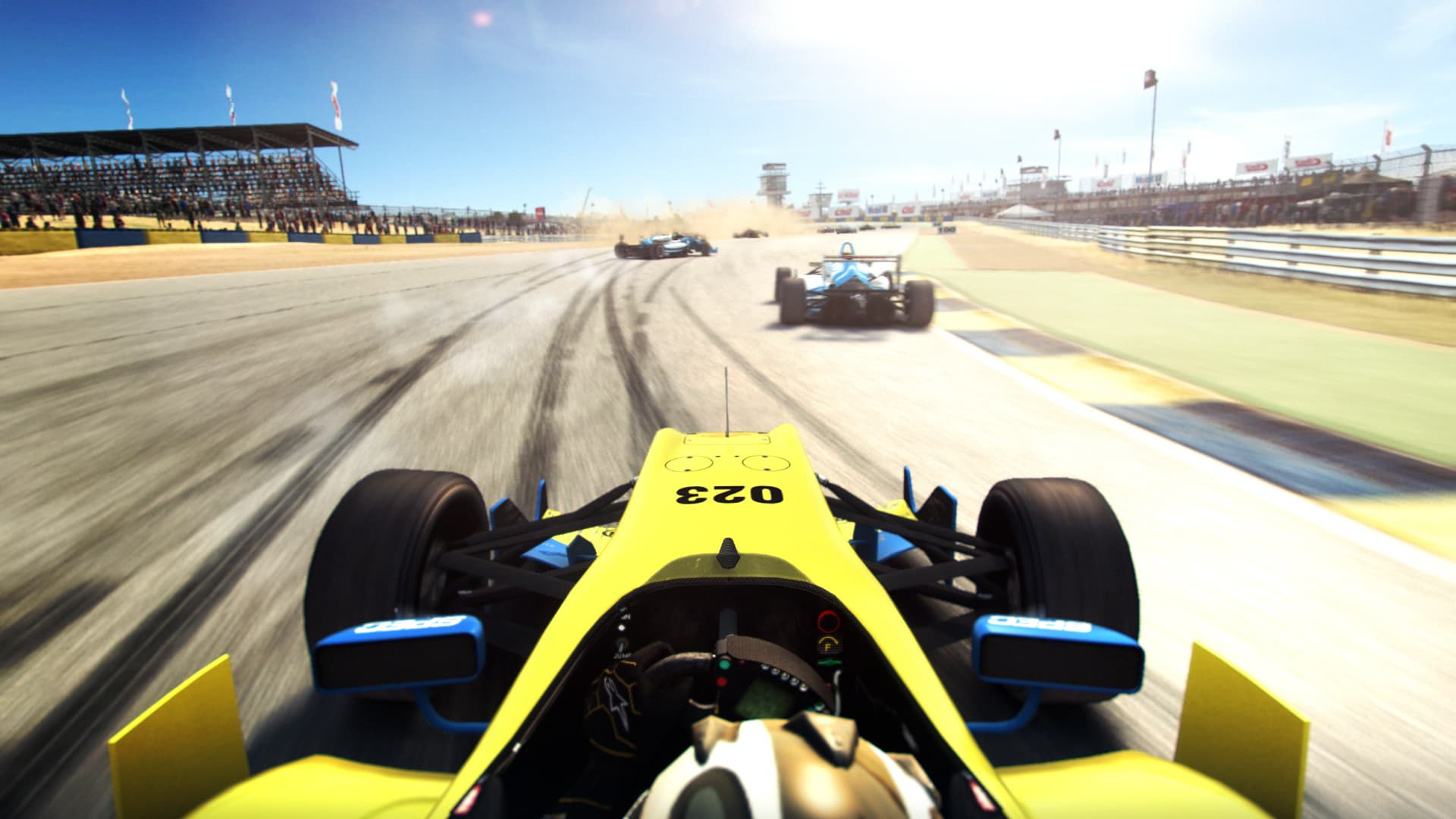 GRID Autosport, on Xbox 360, PlayStation 3 and PC, is on it's way to GAME!