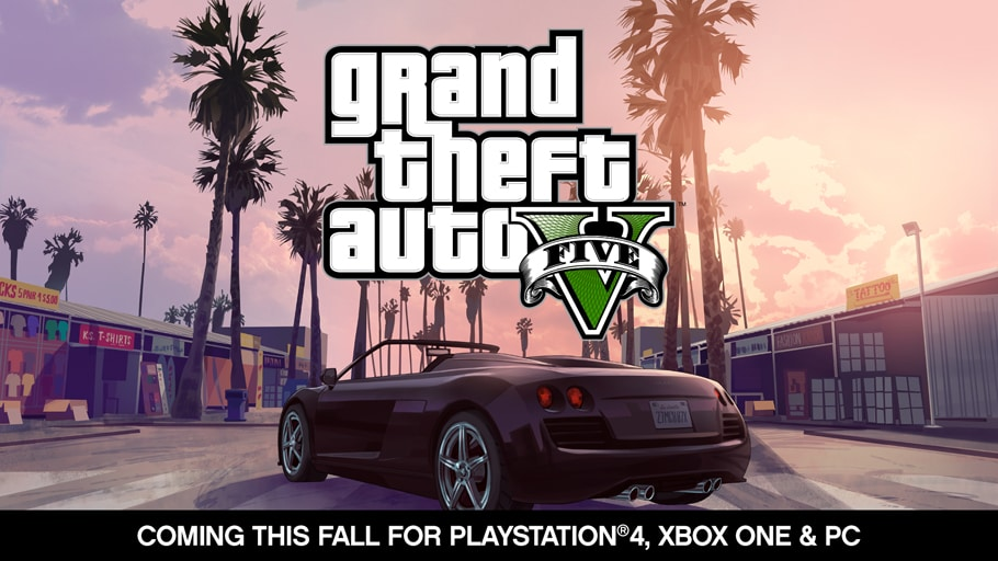 GTA V on PlayStation 4 and Xbox One Preview